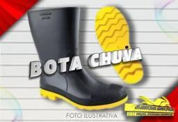 Título do anúncio: Bota Chuva (Solado Amarelo) Motoboy