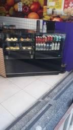 Título do anúncio: Balcão refrigerado e estufa pra salgados