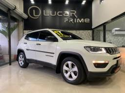 (*60x 1.748,00) Jeep Compass Sport 2.0 (Aut) GNV Completo