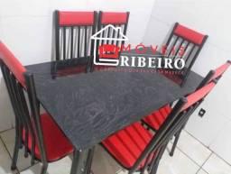 Conj. Mesas 6 cadeiras (Pagamento na entrega)