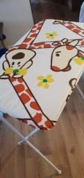 Banheira de Bebê Galzerano com Suporte e Trocador - Standard Girafa Dobrável 20kg