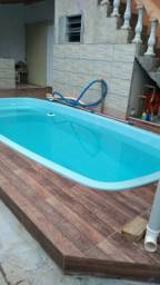Alugo casa com piscina a 600mt da praia Massaguaçu para temporada e final de semana