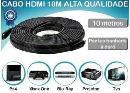 Cabo Hdmi 10 Metros 1080p Full Hd 10m