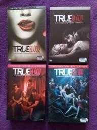 DVDs True Blood - Temporadas 1 2 3 e 4