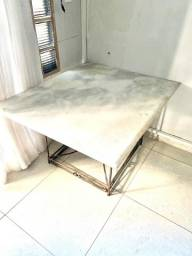 Título do anúncio: Mesa de Centro - De mármore - LEIA