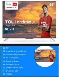 "(Lacrada) Smart TV 65"" TCL 4K P715 - Android, comando de voz"