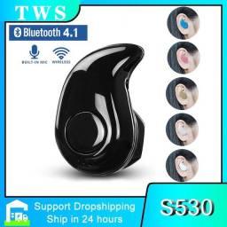 Título do anúncio: S530 Mini Fone De Ouvido Sem Fio Bluetooth Fones De Ouvido Com Microfone