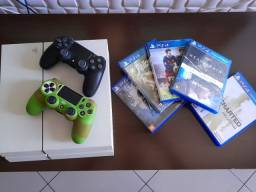 Título do anúncio: Playstation 4 Branco