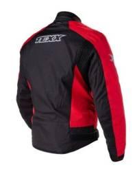 Jaqueta Impermeável Poliéster Texx Racing Ronin Vermelha XL