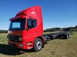 Caminhão Truck MB Atego 2425 6x2 Ano 2010 No Chassi