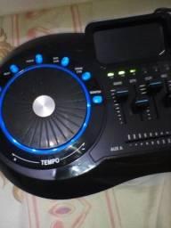 Mixer para dj com efeitos