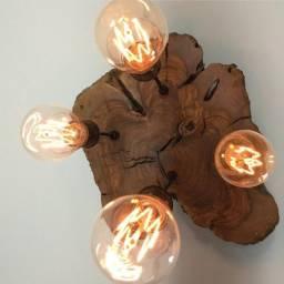 luminária rústica moderna decorar