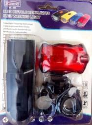 Título do anúncio: Kit de farol e lanterna de led Bike traseiro/ dianteiro