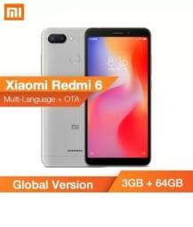 Celular Xiaomi Redmi 6 3gb Ram 64gb Tela 5.45 Sensor Digital Original Lacrado