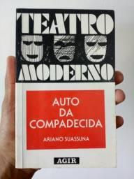 Livro Auto da Compadecida, de Ariano Suassuna
