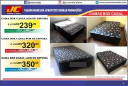 Cama box casal e solteiro varios preços a partir de r$210,00 reais