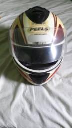 Vendo capacete e antena para moto