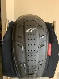 Protetor De Coluna Moto Alpinestars Track Vest Preto