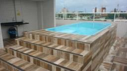 Apartamento 2 quartos em Camboinha 2 com Piscina Prox ao Posto Costinha