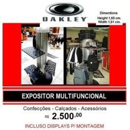 b5f808b2d7dcb Expositor Multi Oakley 1 3 Valor em 12 Vezes