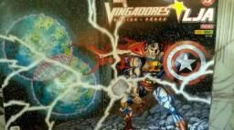 Liga da Justiça & Vingadores - Dc Comics / Marvel - 4 Volumes - Hq