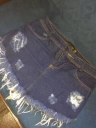 Saias jeans comprar usado  Campo Grande