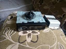 Vendo auto rádio Pioneer fone de bluetooth