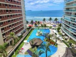 Apartamento na praia, Alto padrão, Frente mar, 2 dormitórios, Varanda gourmet, Lazer compl