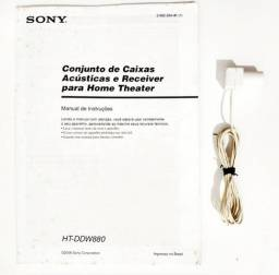 Home Theatre Sony 1000 watt (da foto) - (Vendo a penas: Manual + Antena FM)