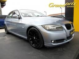 BMW 320i 2011 2.0 JOY 16V GASOLINA 4P AUTOMÁTICA AZUL COMPLETA ÚNICO DONO! - 2011