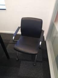 Cadeiras de Escritório Sala de Reunião Cavaletti