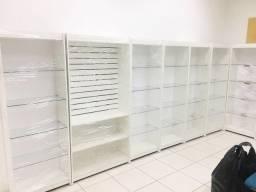 Móveis para sua loja closet box perfumaria farmácia petshop lavanderia