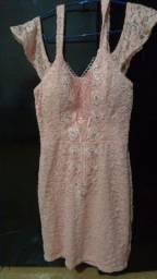 Vestido de festa lindo rosa