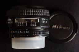 Nikon 28mm 2.8 AF D comprar usado  Rio de Janeiro