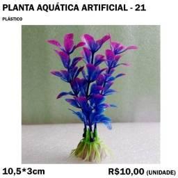 Planta para Aquário Artificial - Modelo 21