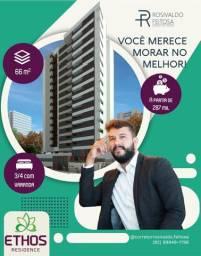 Ethos Residence, apartamento de 65m² - 3 quartos - Serraria POR:R$350.251