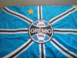 Conjunto Grêmio camisa + bandeiras