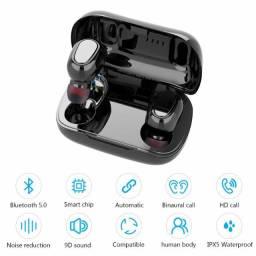 Fone De Ouvidos Tws Bluetooth 5.0 Auriculares Mini Stéreo