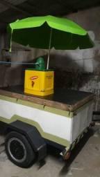 Vendo reboque de agua coco