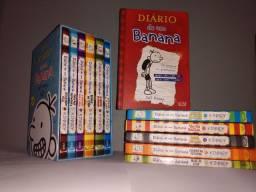 Livros Diário de Um Banana Coleção ( 1 ao 12)
