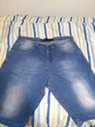 Bermuda Hering Jeans Azul