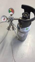 Cilindro CO2 Alumínio 2,3 kg com reguladora