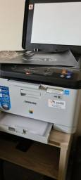 Impressora Samsung laser colorida