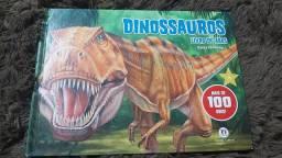 Livro dinossauros- Mais de 100 abas