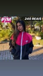 Corta vento Nike Original Rosa Pronta Entrega