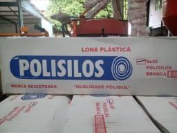 Lona polisilos 8x50 56 kg para silagem 200 micras