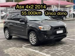 Título do anúncio: Asx 2014 único dono Raridade 55.000km 4x2