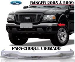 Parachoque dianteiro cromado ranger ano 2005-2006-2007-2008-2009