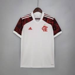 Título do anúncio: Nova camisa do Flamengo 2021/2022 na cor branca