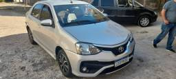 Título do anúncio: Etios Sedan Platinum 1.5 Automatico